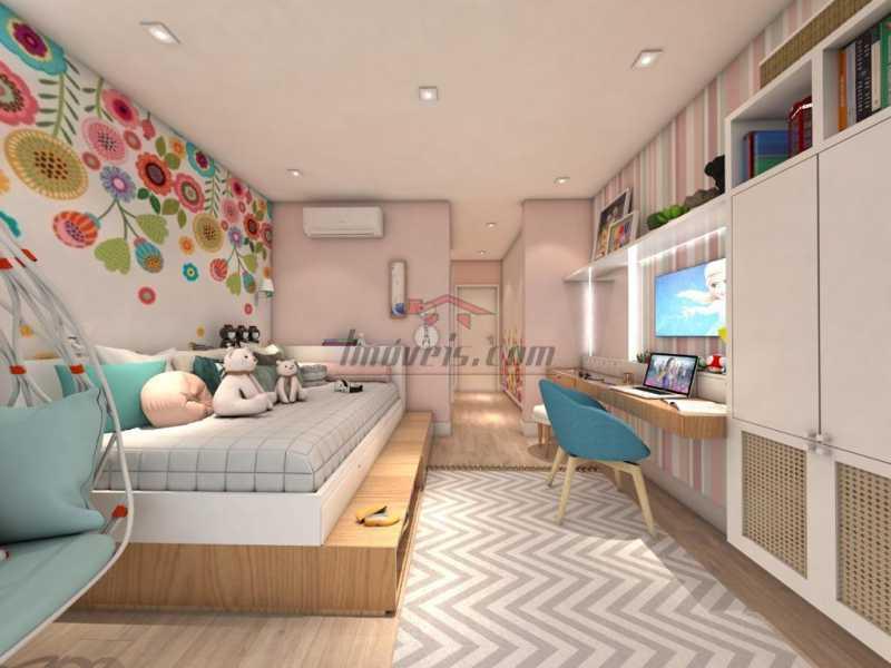 20. - Casa em Condomínio 4 quartos à venda Barra da Tijuca, Rio de Janeiro - R$ 5.900.000 - PECN40115 - 21