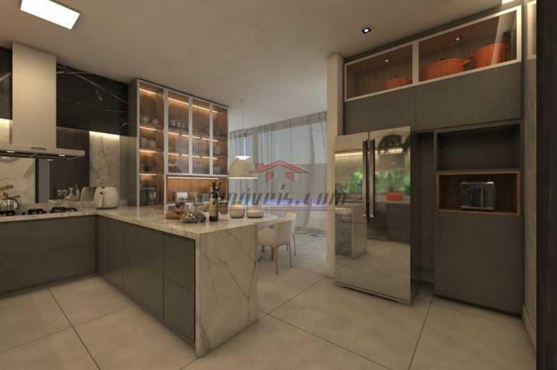 24. - Casa em Condomínio 4 quartos à venda Barra da Tijuca, Rio de Janeiro - R$ 5.900.000 - PECN40115 - 25