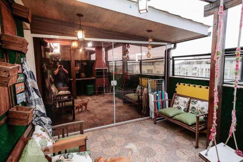 2 - Apartamento 3 quartos à venda Del Castilho, Rio de Janeiro - R$ 630.000 - PSAP30673 - 3
