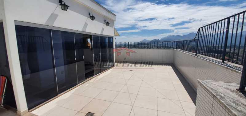 1 - Cobertura 3 quartos à venda Pechincha, Rio de Janeiro - R$ 579.000 - PECO30142 - 3