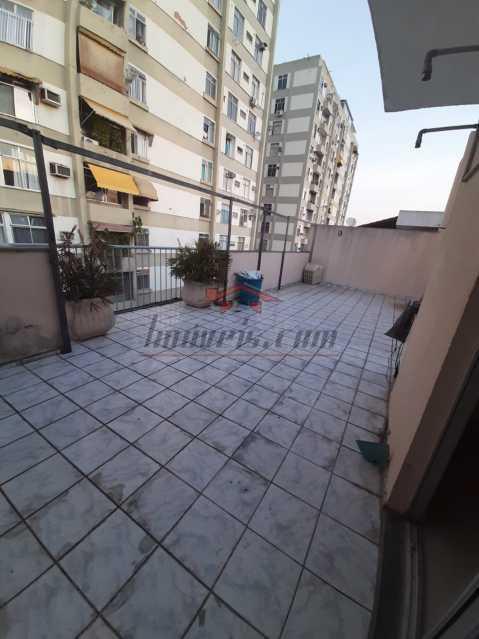 1 - Cobertura 2 quartos à venda Praça Seca, Rio de Janeiro - R$ 260.000 - PSCO20038 - 1