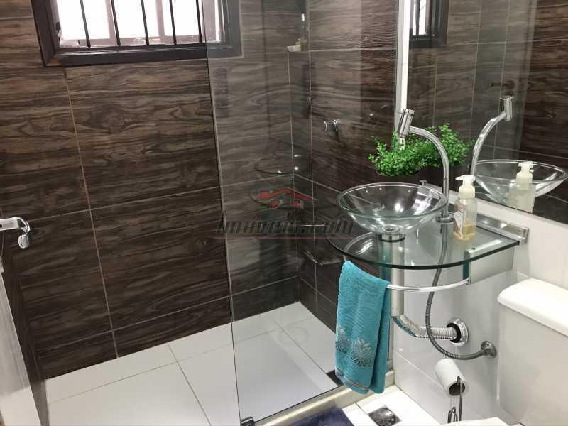 banheiro social. - Casa em Condomínio 2 quartos à venda Pechincha, Rio de Janeiro - R$ 625.000 - PECN20228 - 20