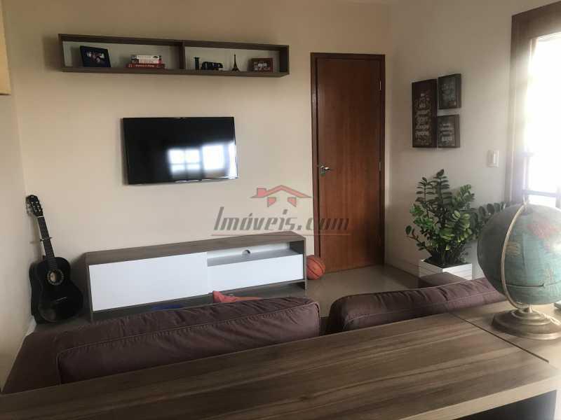 sala terraço. - Casa em Condomínio 2 quartos à venda Pechincha, Rio de Janeiro - R$ 625.000 - PECN20228 - 8
