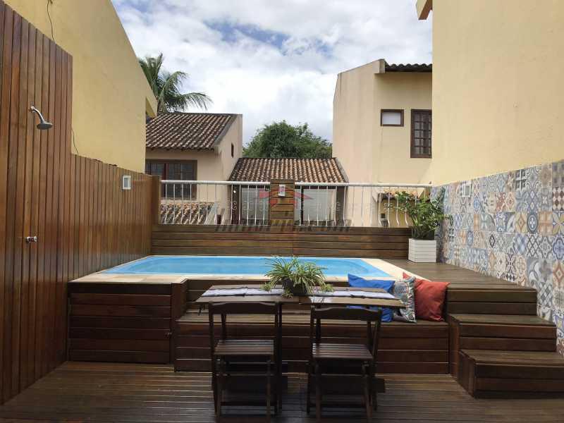 terraço. - Casa em Condomínio 2 quartos à venda Pechincha, Rio de Janeiro - R$ 625.000 - PECN20228 - 27