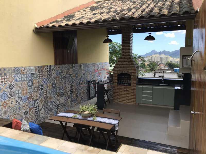 terraço2. - Casa em Condomínio 2 quartos à venda Pechincha, Rio de Janeiro - R$ 625.000 - PECN20228 - 25