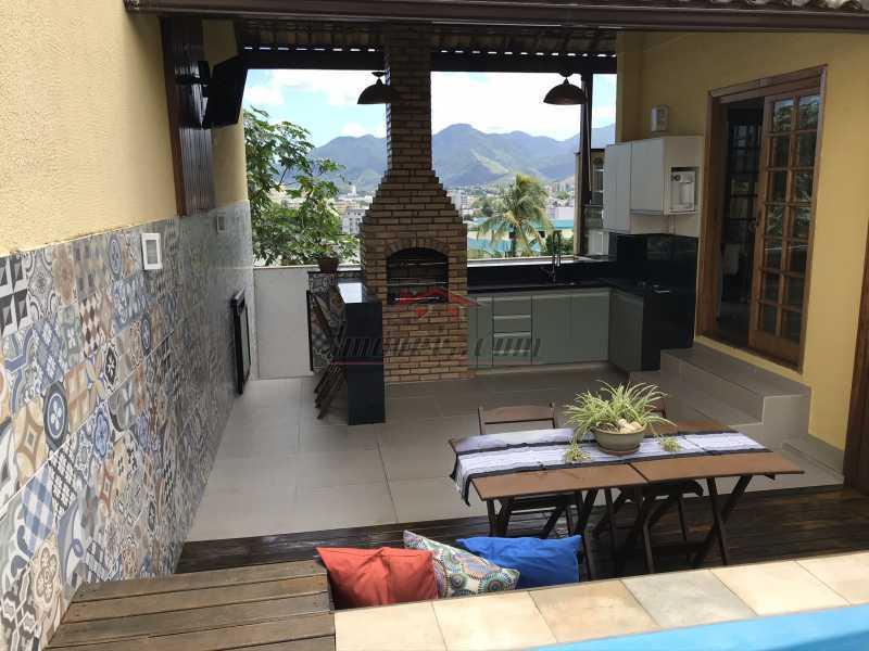 terraço4. - Casa em Condomínio 2 quartos à venda Pechincha, Rio de Janeiro - R$ 625.000 - PECN20228 - 23