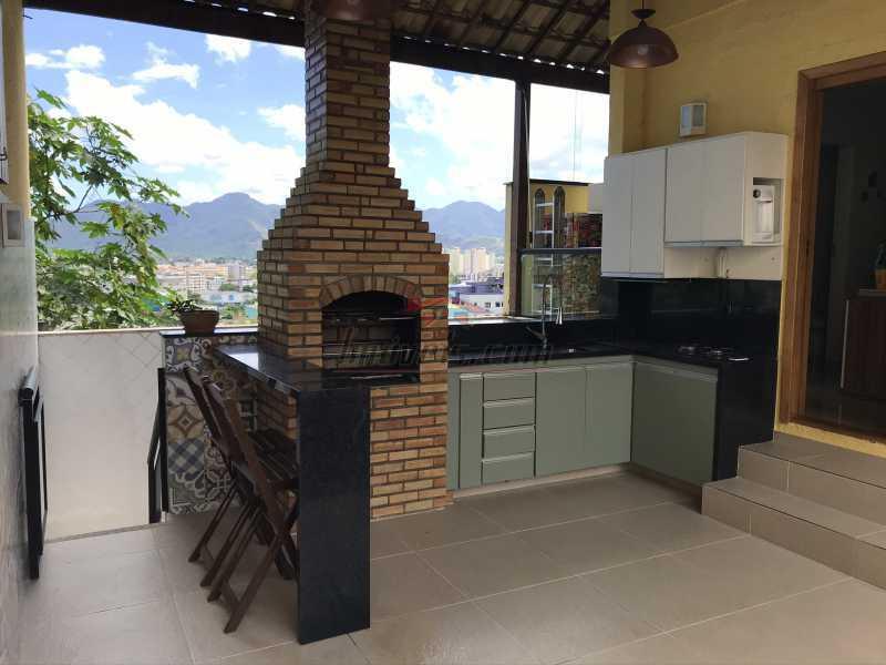 terraço6. - Casa em Condomínio 2 quartos à venda Pechincha, Rio de Janeiro - R$ 625.000 - PECN20228 - 24