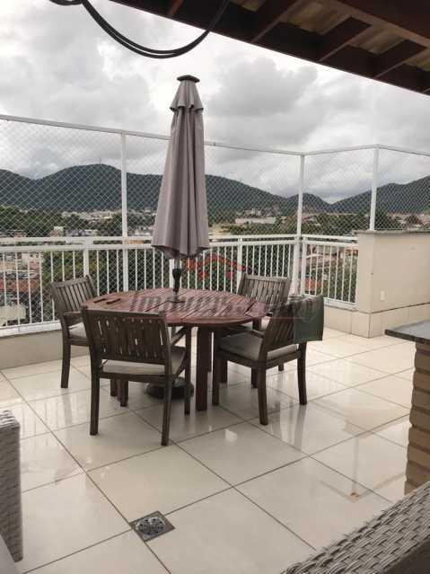 1 - Cobertura 4 quartos à venda Taquara, Rio de Janeiro - R$ 615.000 - PSCO40023 - 1