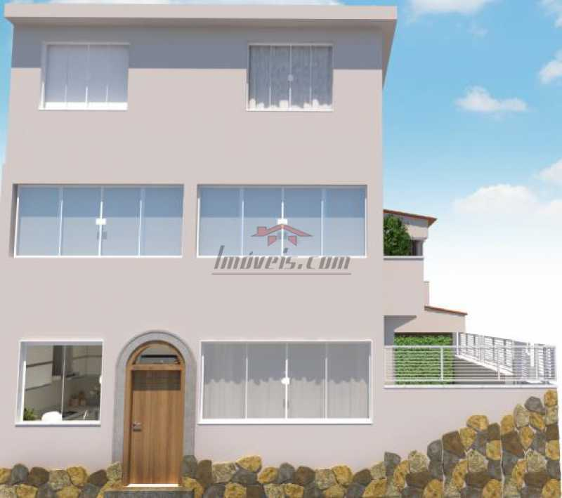 fotos-3 - Casa 5 quartos à venda Tijuca, Rio de Janeiro - R$ 1.100.000 - PECA50036 - 4