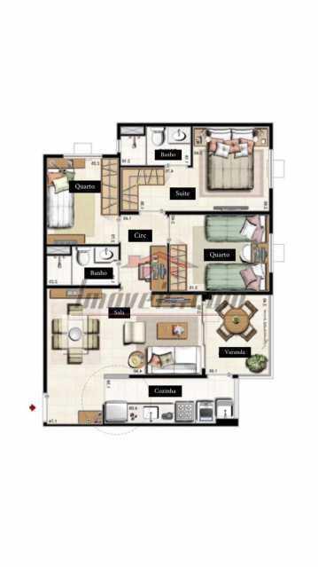 7220693b-3929-4fe8-9ef1-8b939e - Apartamento 3 quartos à venda Camorim, Rio de Janeiro - R$ 380.000 - PEAP30800 - 11