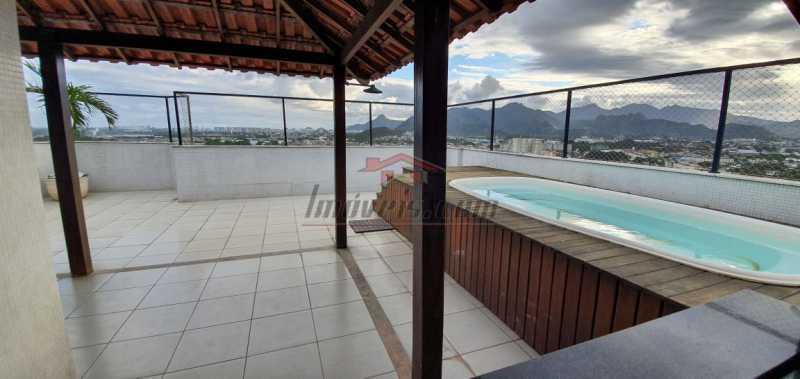 1 - Cobertura 3 quartos à venda Pechincha, Rio de Janeiro - R$ 575.000 - PECO30149 - 1