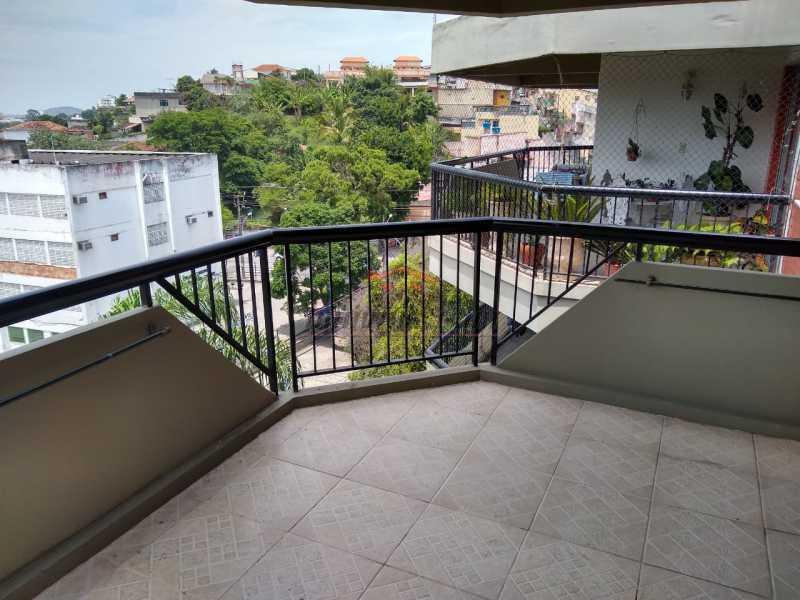 1 - Apartamento 2 quartos à venda Tanque, Rio de Janeiro - R$ 318.000 - PEAP22093 - 1