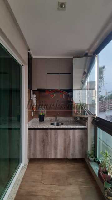 1 - Apartamento 3 quartos à venda Recreio dos Bandeirantes, Rio de Janeiro - R$ 615.000 - PEAP30851 - 1