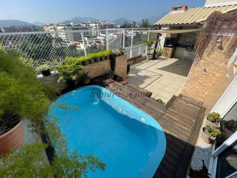 3d58d4ef-730f-44c1-ad9e-bf7a52 - Cobertura 3 quartos à venda Taquara, Rio de Janeiro - R$ 599.000 - PECO30161 - 1