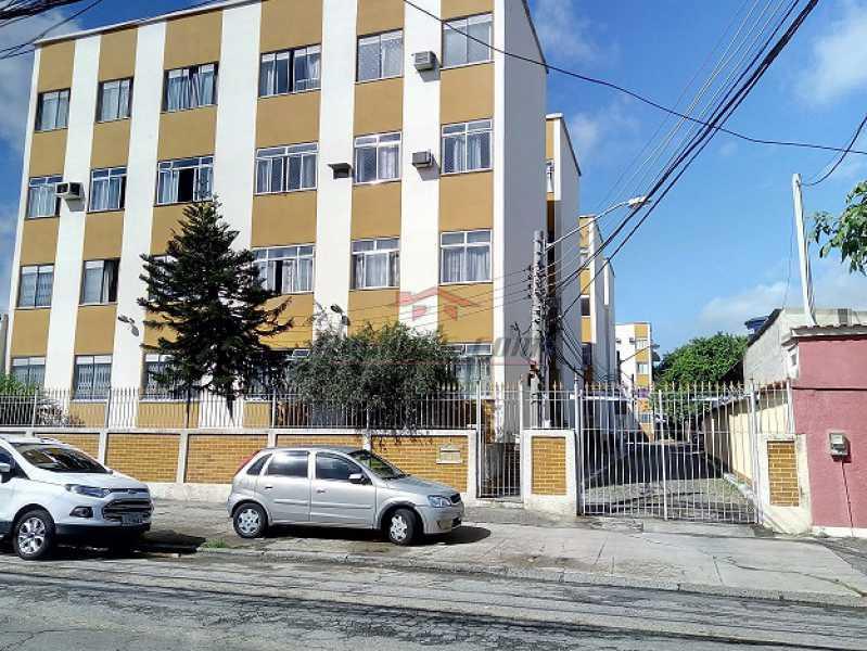 01 - Fachada e entrada do      - Apartamento 3 quartos - Campinho - PEAP30886 - 1