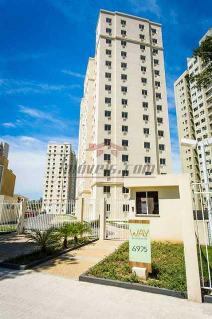 Fachada way 2 - Apartamento à venda Estrada dos Bandeirantes,Curicica, BAIRROS DE ATUAÇÃO ,Rio de Janeiro - R$ 320.000 - PEAP30898 - 1