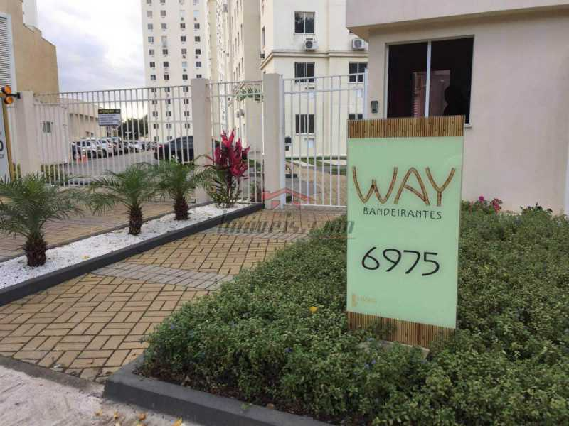 Fachada way - Apartamento à venda Estrada dos Bandeirantes,Curicica, BAIRROS DE ATUAÇÃO ,Rio de Janeiro - R$ 320.000 - PEAP30898 - 3