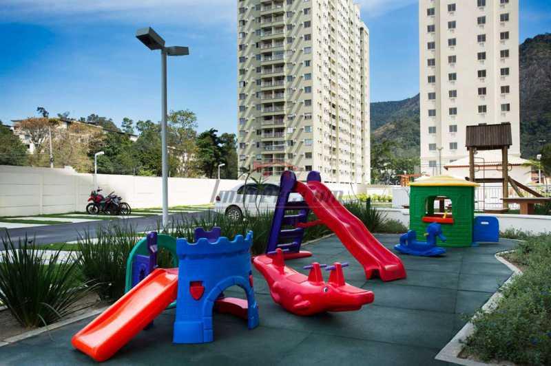 Piscina Way - Apartamento à venda Estrada dos Bandeirantes,Curicica, BAIRROS DE ATUAÇÃO ,Rio de Janeiro - R$ 320.000 - PEAP30898 - 5