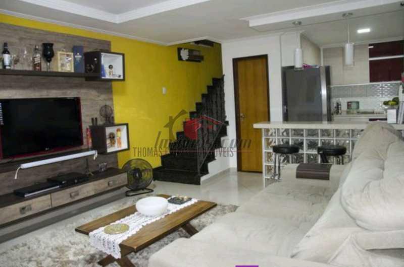 1 - Casa de Vila 3 quartos à venda Vila Valqueire, Rio de Janeiro - R$ 420.000 - PECV30049 - 1
