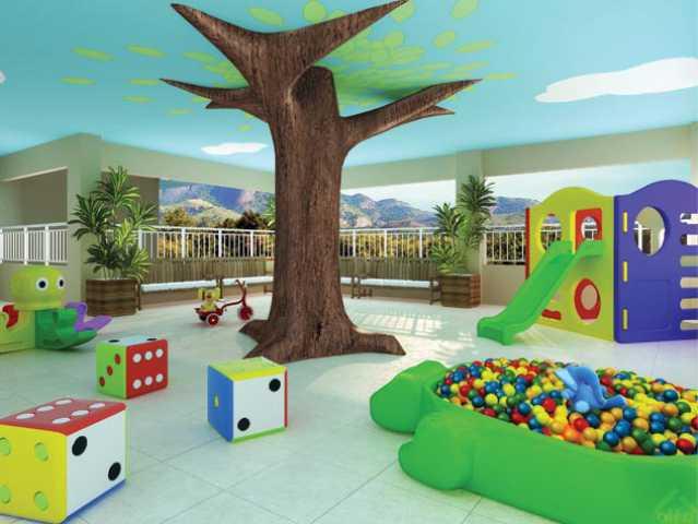 3-Village-Capri-Playground - Apartamento à venda Rua Florianópolis,Praça Seca, Rio de Janeiro - R$ 312.395 - IA21081 - 1