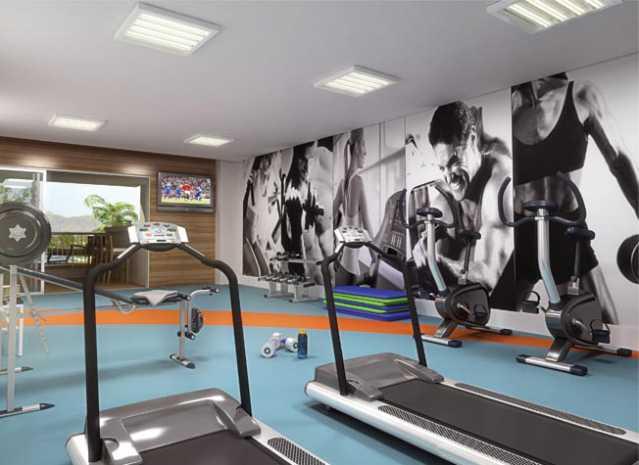 Village-Capri-Fitness - Apartamento à venda Rua Florianópolis,Praça Seca, Rio de Janeiro - R$ 312.395 - IA21081 - 7