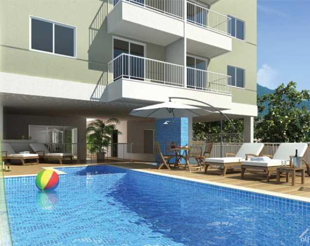Village-Capri-Piscina - Apartamento à venda Rua Florianópolis,Praça Seca, Rio de Janeiro - R$ 312.395 - IA21081 - 10