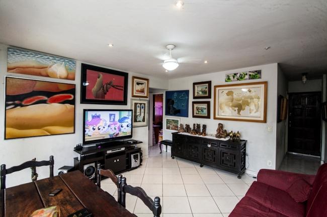 01 sala vista - Apartamento à venda Rua Marquês de Leão,Engenho Novo, Rio de Janeiro - R$ 270.000 - PSAP20098 - 3