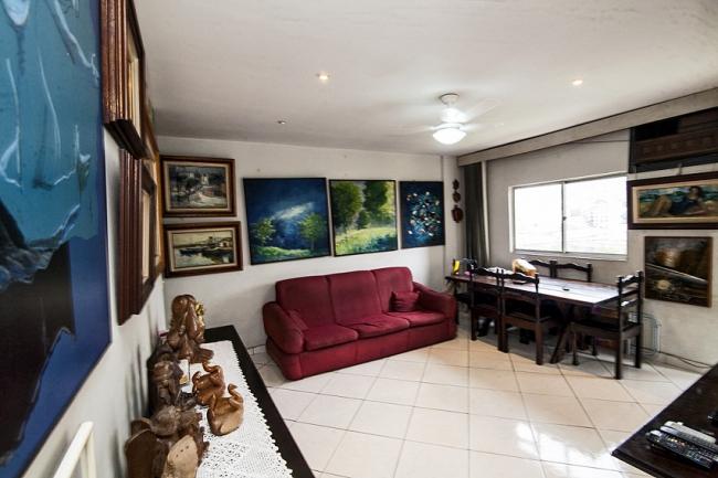 02 sala vista - Apartamento à venda Rua Marquês de Leão,Engenho Novo, Rio de Janeiro - R$ 270.000 - PSAP20098 - 4