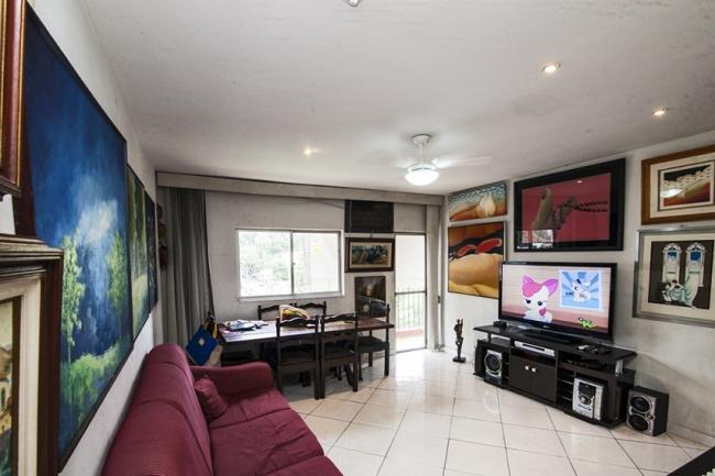 03 sala vista - Apartamento à venda Rua Marquês de Leão,Engenho Novo, Rio de Janeiro - R$ 270.000 - PSAP20098 - 1