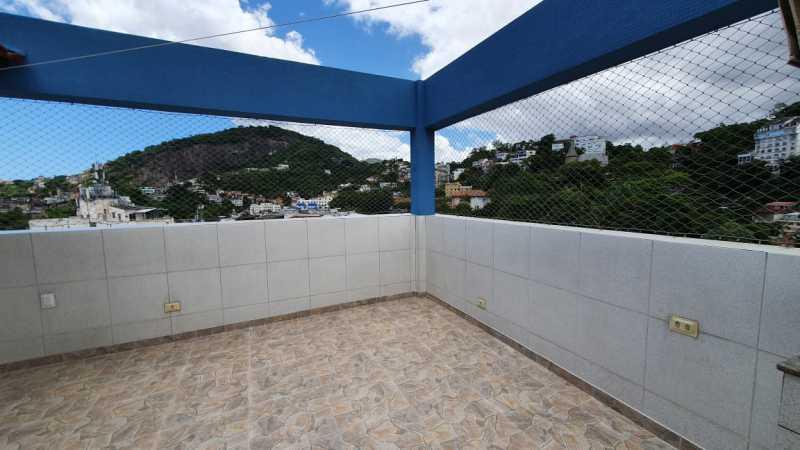 08 - Cobertura à venda Rua Cândido Mendes,Glória, Rio de Janeiro - R$ 1.350.000 - SK30069 - 9