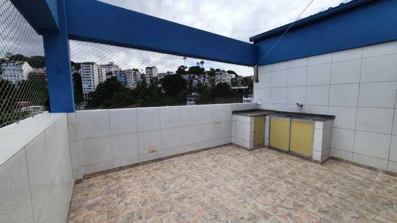 09 - Cobertura à venda Rua Cândido Mendes,Glória, Rio de Janeiro - R$ 1.350.000 - SK30069 - 10