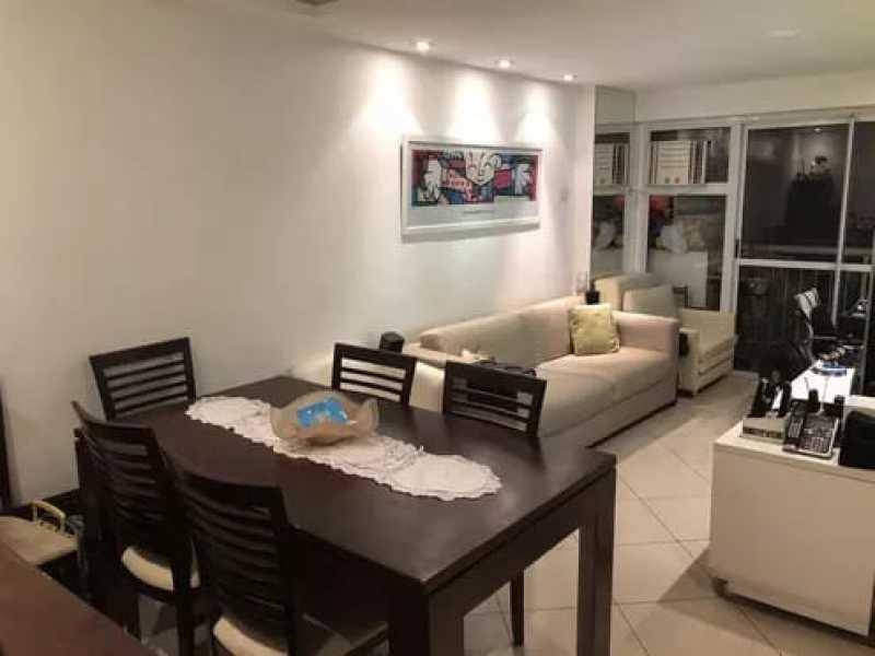 01 - Apartamento 3 quartos à venda Catete, Rio de Janeiro - R$ 990.000 - KFAP30135 - 1