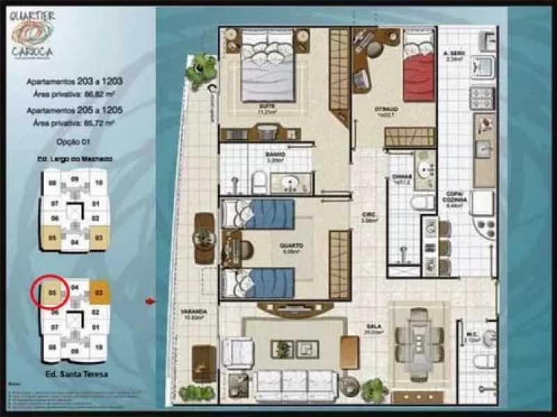 08 - Apartamento 3 quartos à venda Catete, Rio de Janeiro - R$ 990.000 - KFAP30135 - 9