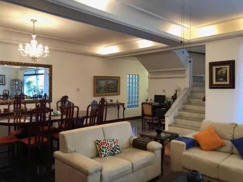 02 - Casa 4 quartos à venda Laranjeiras, Rio de Janeiro - R$ 1.550.000 - KFCA40009 - 3