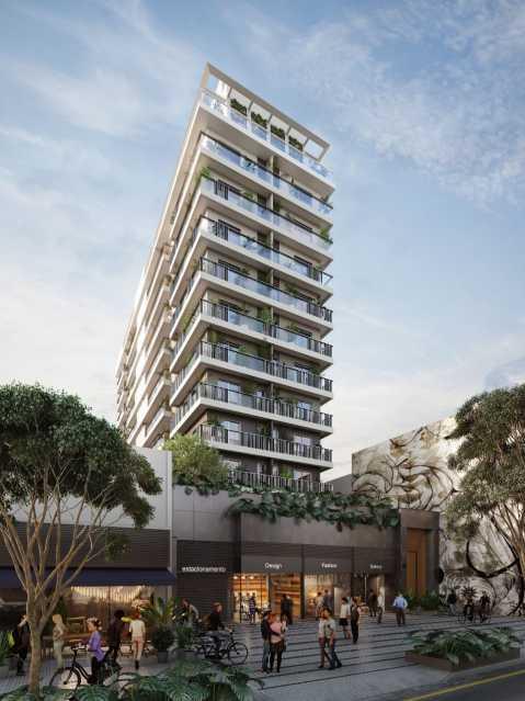01 - Apartamento à venda Botafogo, Rio de Janeiro - R$ 1.500.000 - KFAP00045 - 1