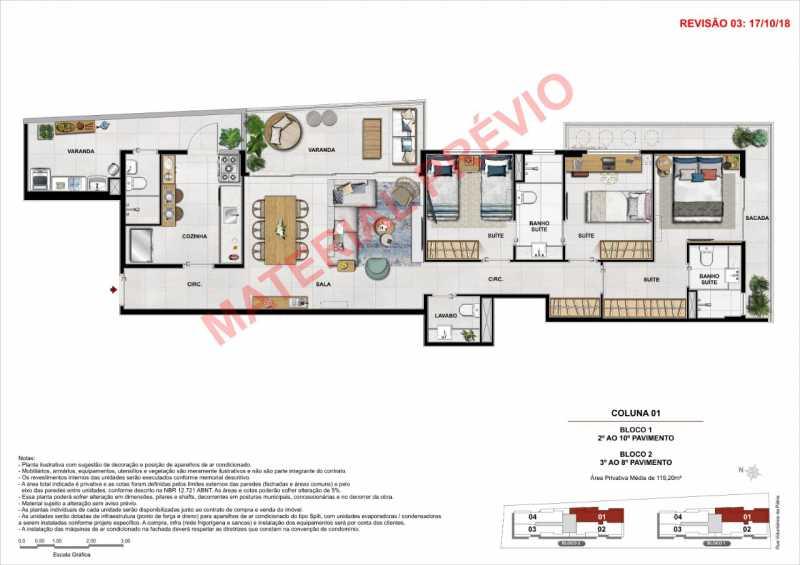 02 - Apartamento à venda Botafogo, Rio de Janeiro - R$ 1.500.000 - KFAP00045 - 3