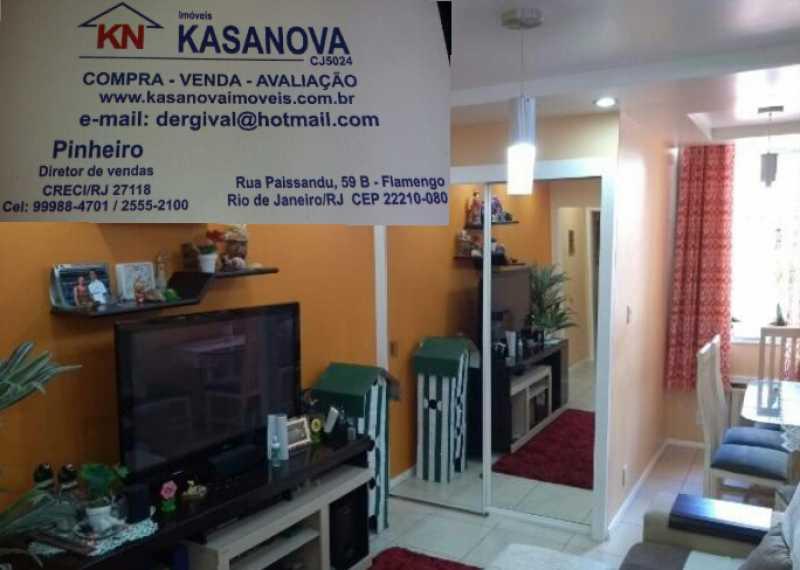 02 - Apartamento 1 quarto à venda Flamengo, Rio de Janeiro - R$ 480.000 - KFAP10113 - 3