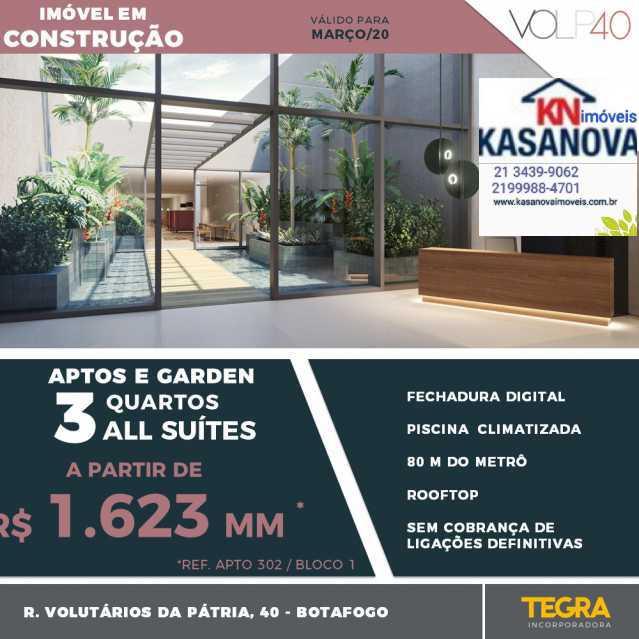 03 - Apartamento 3 quartos à venda Botafogo, Rio de Janeiro - R$ 1.650.000 - KFAP30174 - 4