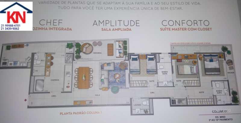 07 - Apartamento 3 quartos à venda Botafogo, Rio de Janeiro - R$ 1.650.000 - KFAP30174 - 9