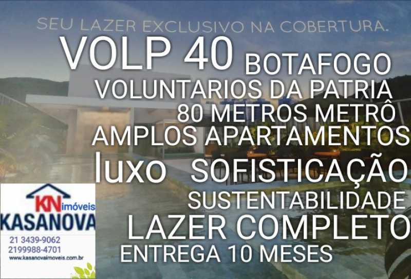 01 - Apartamento 3 quartos à venda Botafogo, Rio de Janeiro - R$ 1.650.000 - KFAP30174 - 1