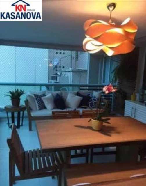 01 - Apartamento 3 quartos à venda Humaitá, Rio de Janeiro - R$ 1.450.000 - KSAP30086 - 1