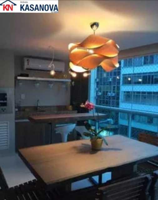 03 - Apartamento 3 quartos à venda Humaitá, Rio de Janeiro - R$ 1.450.000 - KSAP30086 - 4