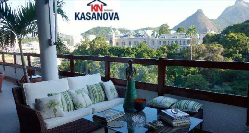 13 - Cobertura 5 quartos à venda Laranjeiras, Rio de Janeiro - R$ 5.000.000 - KFCO50005 - 14