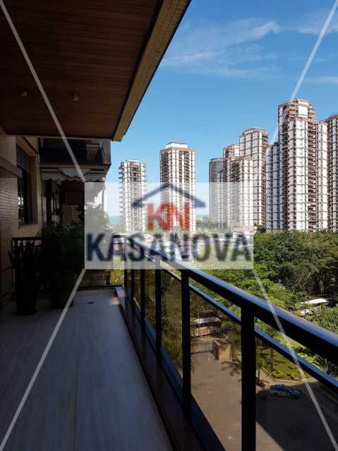 Photo_1572441646585 - Apartamento 4 quartos à venda Barra da Tijuca, Rio de Janeiro - R$ 2.100.000 - KFAP40044 - 1