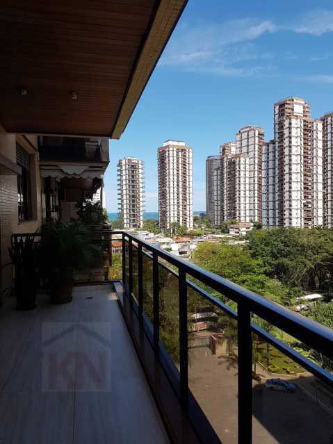 Photo_1572441719735 - Apartamento 4 quartos à venda Barra da Tijuca, Rio de Janeiro - R$ 2.100.000 - KFAP40044 - 4