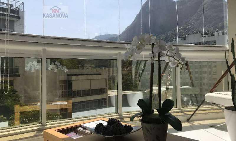 01 - Cobertura 4 quartos à venda Humaitá, Rio de Janeiro - R$ 2.500.000 - KFCO40007 - 1