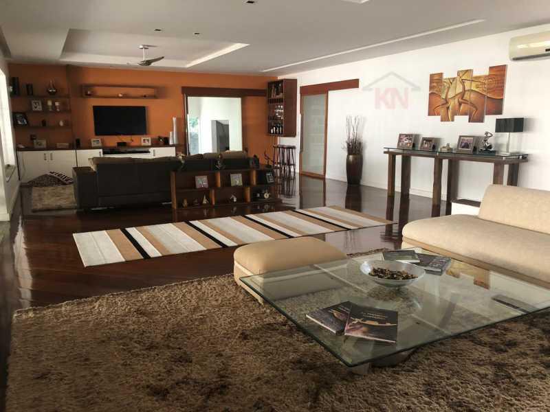 02 - Casa 6 quartos à venda Cosme Velho, Rio de Janeiro - R$ 4.900.000 - KFCA60005 - 3