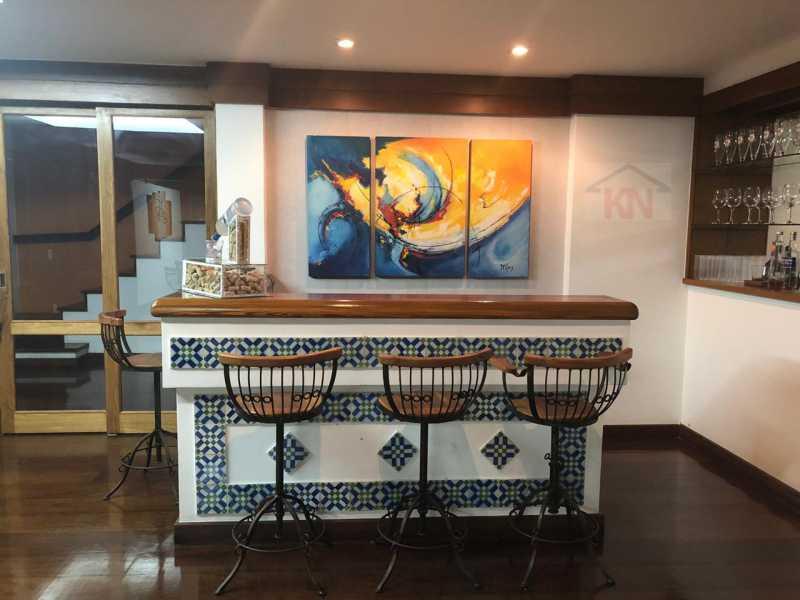 13 - Casa 6 quartos à venda Cosme Velho, Rio de Janeiro - R$ 4.900.000 - KFCA60005 - 14