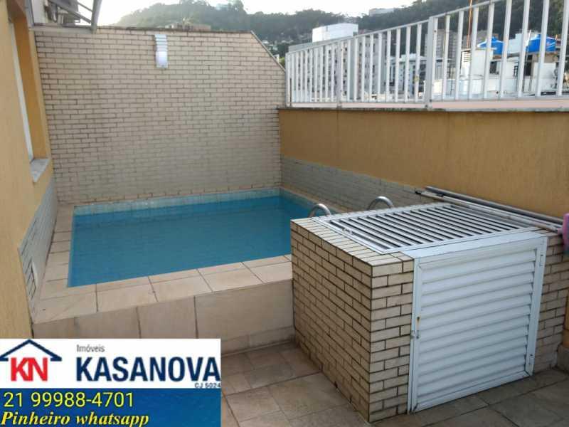 10 - Cobertura Laranjeiras, Rio de Janeiro, RJ À Venda, 4 Quartos, 160m² - KFCO40009 - 11