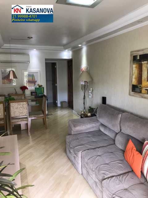 04 - Apartamento 3 quartos à venda Laranjeiras, Rio de Janeiro - R$ 1.100.000 - KFAP30214 - 5